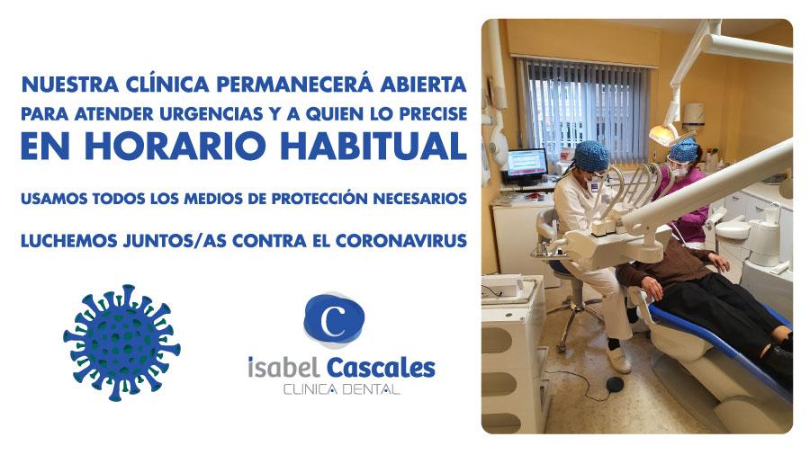 Abiertos contra el coronavirus